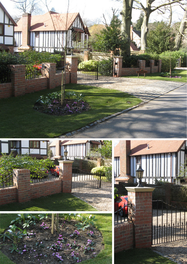 Simply garden design ascot bricks mortar Simply garden design