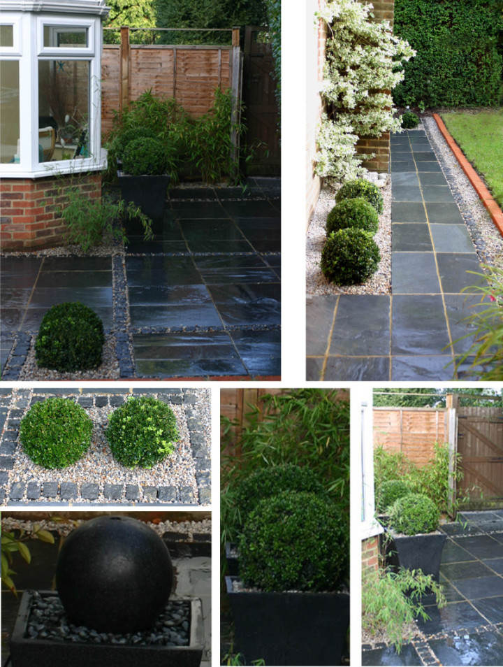 Simply garden design ascot slate setts Simply garden design