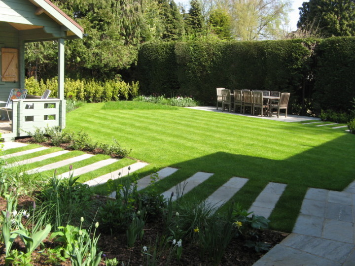 Simply garden design ascot angles triangles Simply garden design