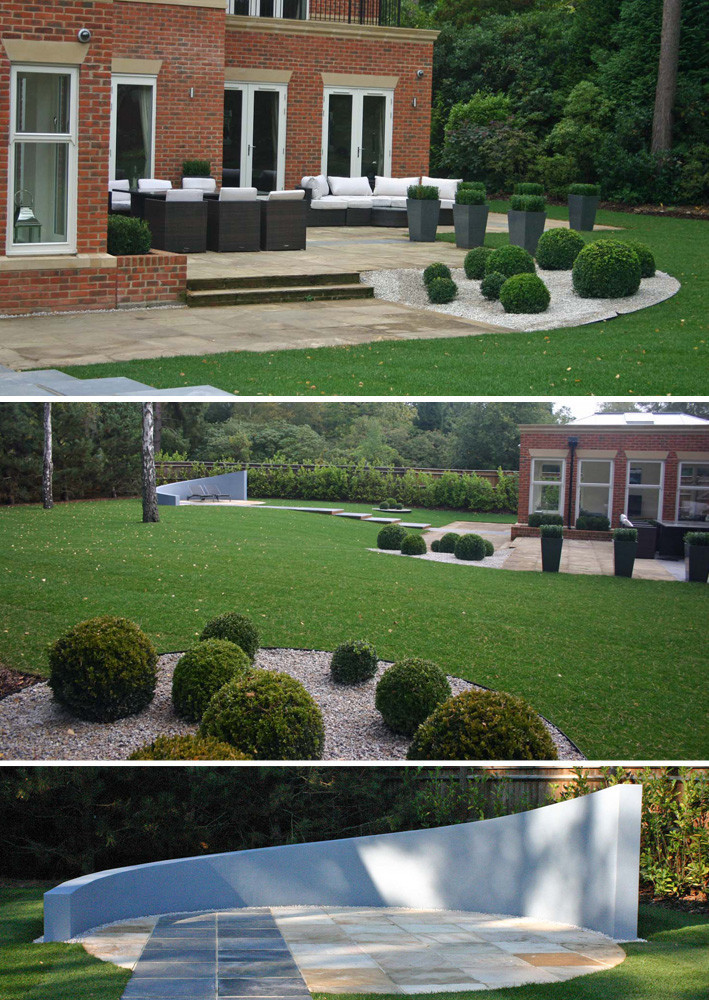 Simply garden design ascot slate steel Simply garden design