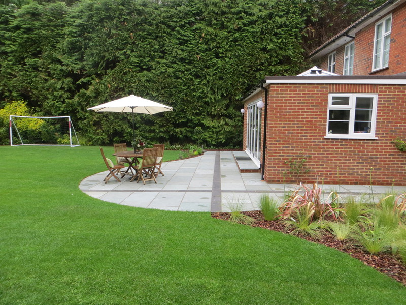 Simply garden design ascot many shades of grey Simply garden design